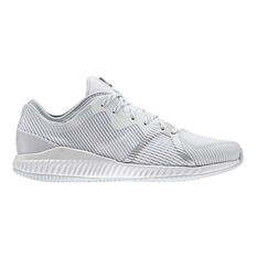 adidas CrazyTrain Bounce Womens Training Shoes White / Silver US 6, White / Silver, rebel_hi-res