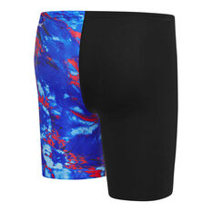 Speedo Boys Vibe 2 Jammer Black 6, Black, rebel_hi-res