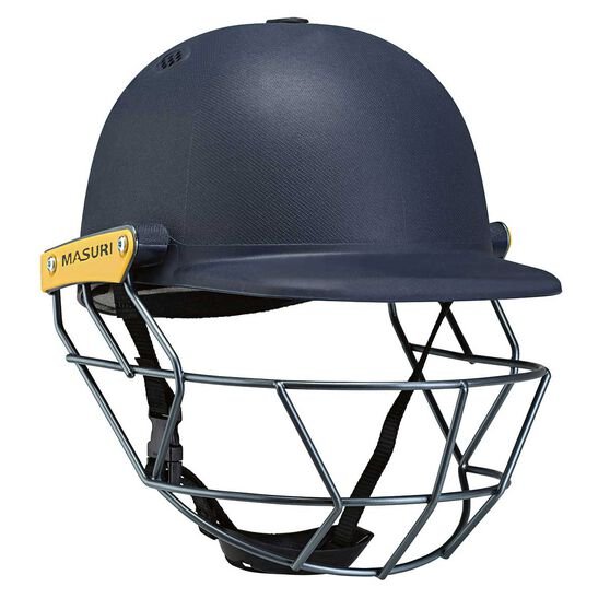Masuri Legacy Junior Cricket Helmet, Navy, rebel_hi-res