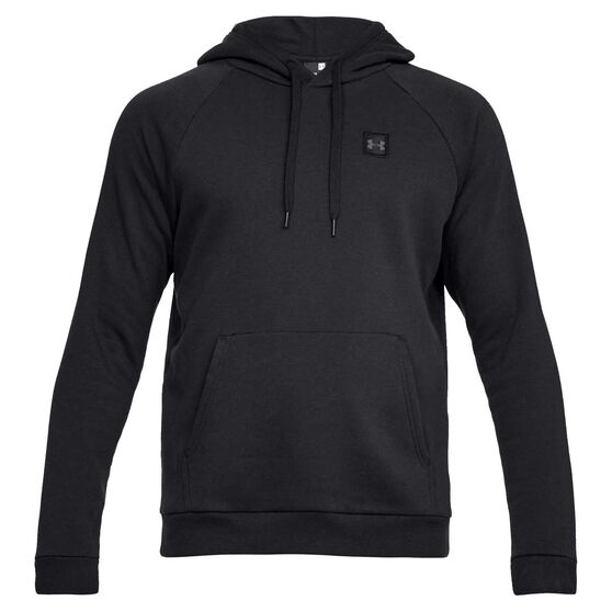 Under Armour Mens Rival Fleece Hoodie, , rebel_hi-res