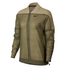 Nike Womens Icon Clash Running Jacket Marsh S, Marsh, rebel_hi-res