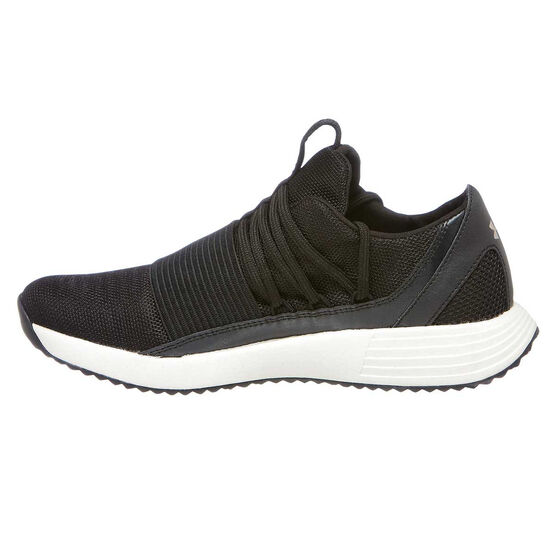 Under Armour Breath Lace X NM Womens Training Shoes, Black / White, rebel_hi-res