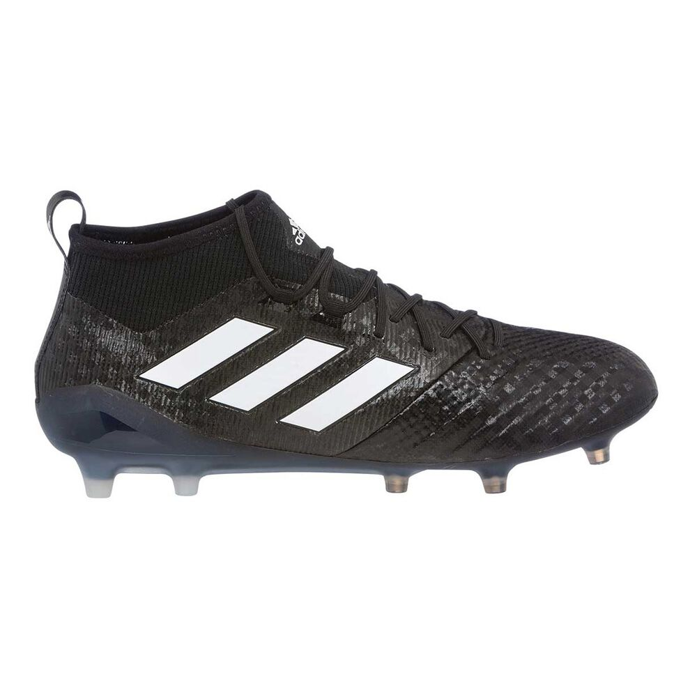 9d685becfcc6 adidas Ace 17.1 Primeknit Mens Football Boots Black / White US 8.5 Adult,  Black /