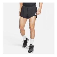 Nike Mens AeroSwift 2 Inch Running Shorts, Black, rebel_hi-res