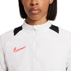Nike Womens Dri-FIT Academy Drill Tee, Black, rebel_hi-res
