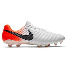 Nike Tiempo Legend VII Elite Football Boots White / Black US 7 / Wo8.5, White / Black, rebel_hi-res