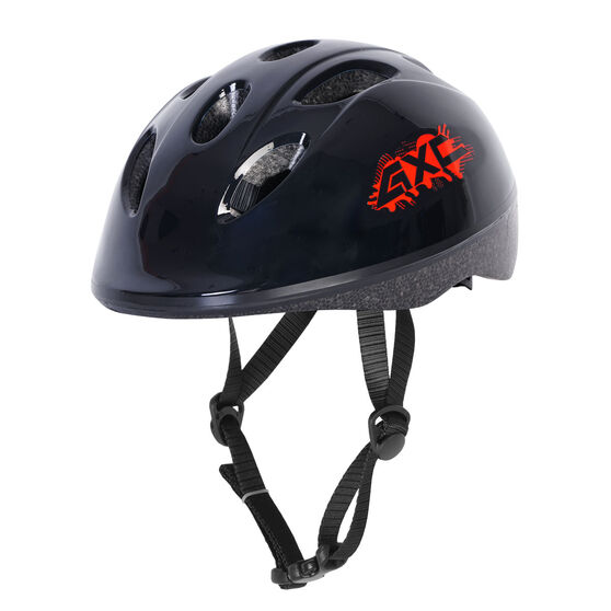 Goldcross Kids Pioneer 2 Bike Helmet, Black, rebel_hi-res