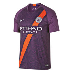 Manchester City 2018 / 19 Mens 3rd Jersey Purple S, Purple, rebel_hi-res