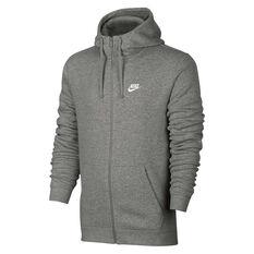 Nike Mens Sportswear Hoodie Grey S, Grey, rebel_hi-res