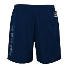 Manly Warringah Sea Eagles 2021 Mens Sports Shorts, Navy, rebel_hi-res