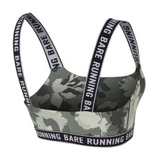 Running Bare Womens Tatler Sports Bra Print 8, Print, rebel_hi-res