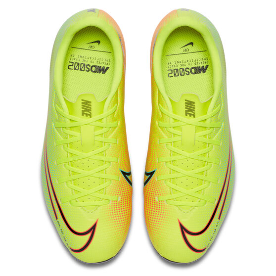 Nike Mercurial Vapor XIII Academy MDS Football Boots, Yellow/Black, rebel_hi-res