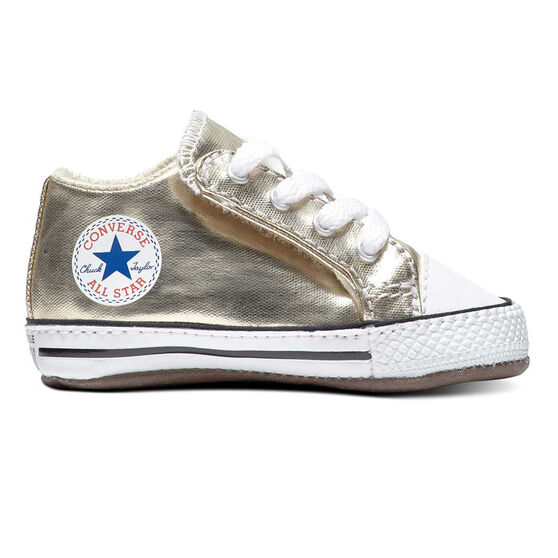 Converse Chuck Taylor All Star Metallic Cribster Toddlers Shoes, Gold, rebel_hi-res