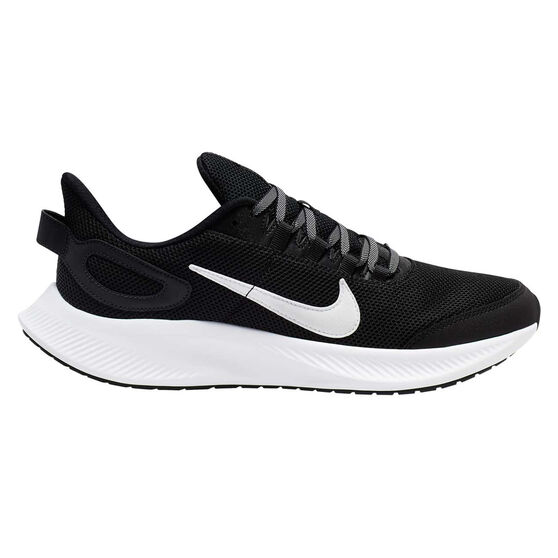 Nike Run All Day 2 Mens Running Shoes, Black / White, rebel_hi-res
