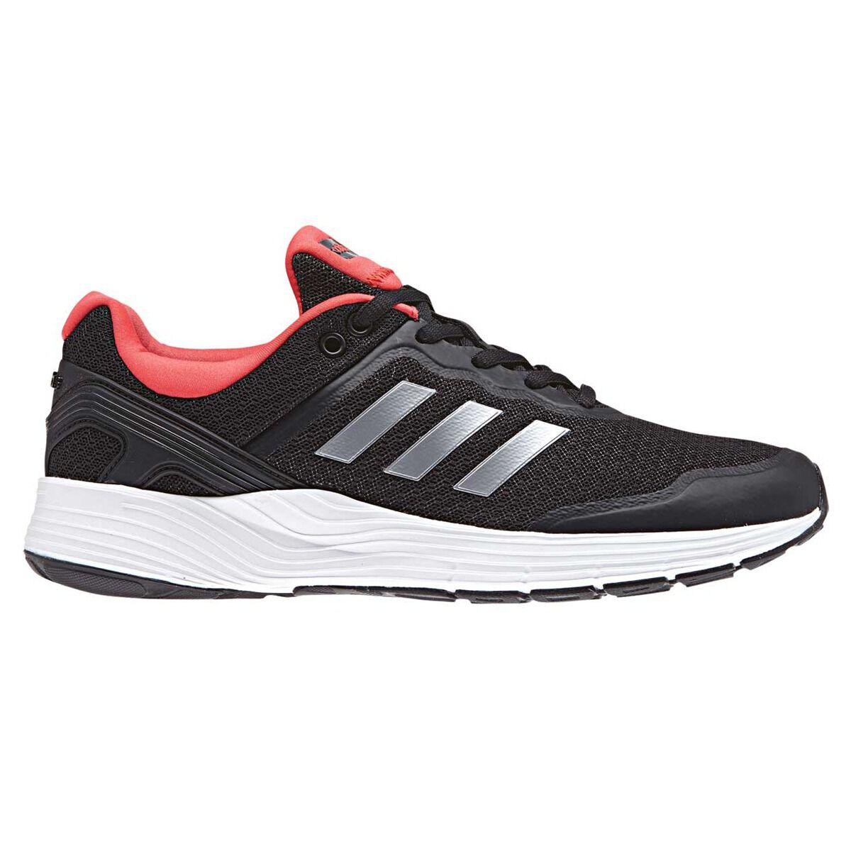 adidas fluidcloud ambizioso donne scarpe da corsa nero / rosso noi 7