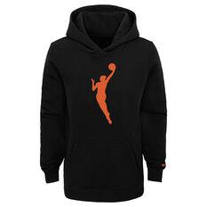 Nike Kids WNBA Essential Team Hoodie Black S, Black, rebel_hi-res