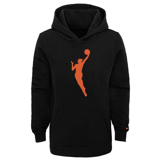 Nike Kids WNBA Essential Team Hoodie, Black, rebel_hi-res