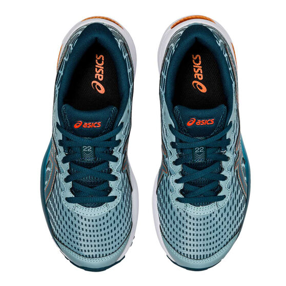 Asics GEL Cumulus 22 Kids Running Shoes, Teal, rebel_hi-res