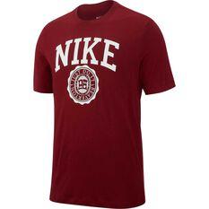 Nike Mens Sportswear Tee Red S, Red, rebel_hi-res