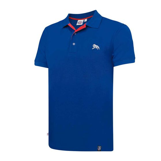 Western Bulldogs Mens Polo Shirt S, , rebel_hi-res