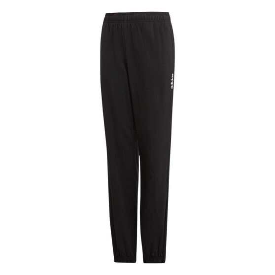 adidas Boys Essentials Stanford Pant, Black / White, rebel_hi-res