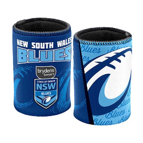 NSW Blues State of Origin 2019  Stubby Holder, , rebel_hi-res
