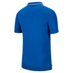 NikeCourt Mens Dri-FIT Tennis Polo Blue S, Blue, rebel_hi-res