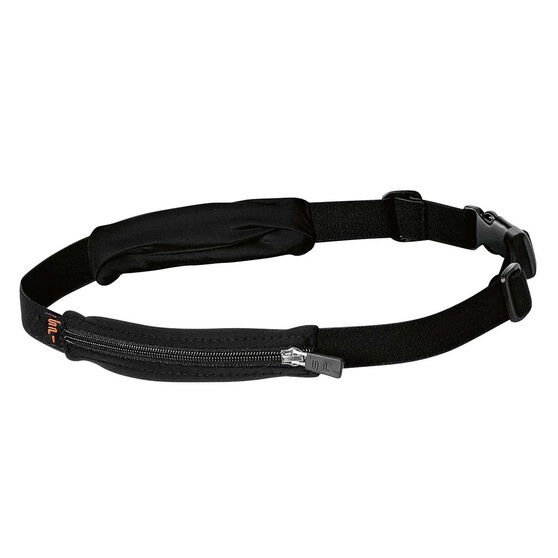 Spibelt Dual Pocket Running Belt Black, , rebel_hi-res
