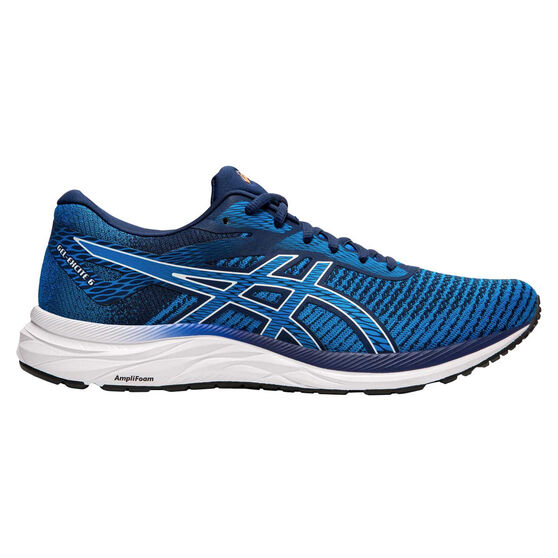 Asics GEL Excite 6 Twist Mens Running Shoes, Blue / White, rebel_hi-res