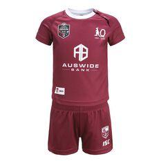 QLD Maroons State of Origin 2020 Infants Home Kit Maroon 1, Maroon, rebel_hi-res
