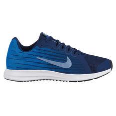 Nike Downshifter 8 Kids Running Shoes Blue / Navy US 4, Blue / Navy, rebel_hi-res