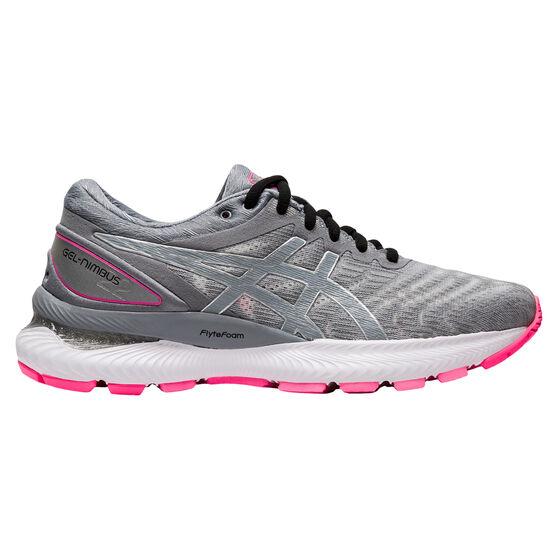 Asics GEL Nimbus 22 Lite Show Womens Running Shoes, Grey, rebel_hi-res