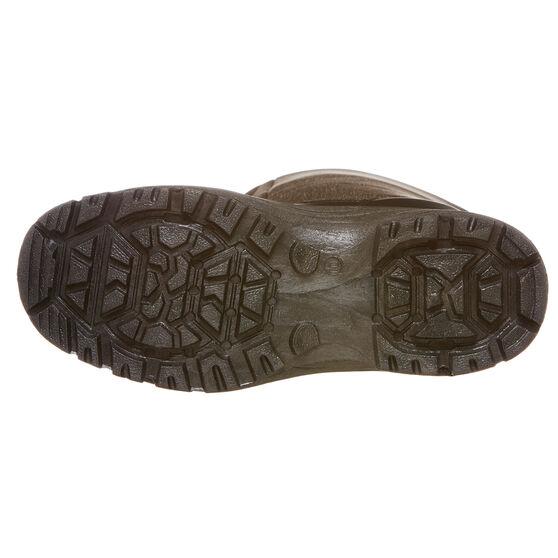 Tahwalhi Low Roll Mens Snow Boots, Grey, rebel_hi-res