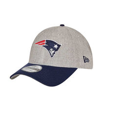 New England Patriots 9FORTY Heather Grey Cap, , rebel_hi-res