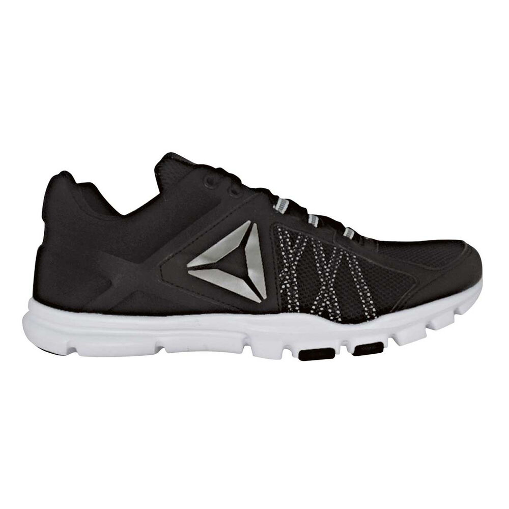 b3413140cd5 Reebok Yourflex Train 9.0 MT Mens Training Shoes Black   White US 11.5