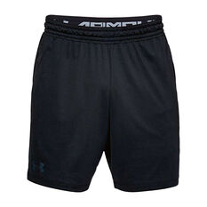 Under Armour Mens Mode Kit 1 Training Shorts Black XS, Black, rebel_hi-res