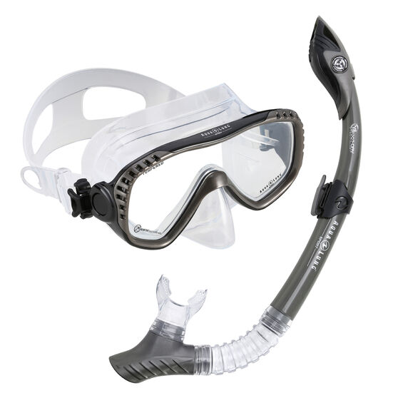 Aqua Lung Sport Adult Compass Snorkel Combo, , rebel_hi-res