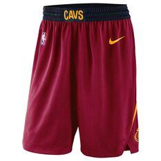 Nike Mens Cleveland Cavaliers 2018 Road Swingman Shorts, , rebel_hi-res