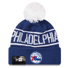 Philadelphia 76ers 2019 New Era Knits On Fire Beanie, , rebel_hi-res