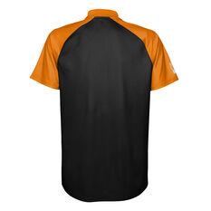 West Tigers 2021 Mens Polo Black S, Black, rebel_hi-res