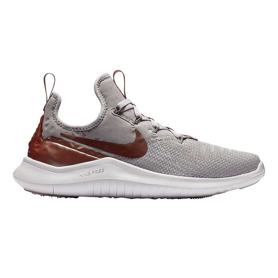 Nike Free TR 8 Womens Training Shoes, Grey / Purple, rebel_hi-res