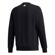 adidas Mens UB Graphic Sweatshirt Black S, Black, rebel_hi-res