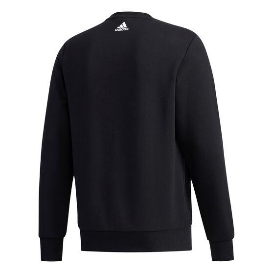 adidas Mens UB Graphic Sweatshirt, Black, rebel_hi-res