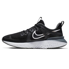 Nike Legend React 2 Womens Running Shoes, Black / White, rebel_hi-res