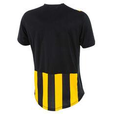 Umbro Mens Striped Jersey, Yellow / Black, rebel_hi-res