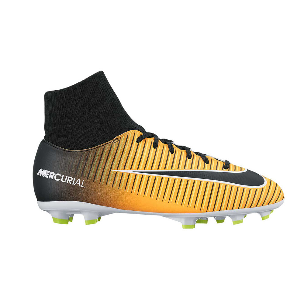 473e954abc52 Nike Mercurial Victory VI Dynamic Fit Junior Football Boots Orange   Black  US 1 Junior