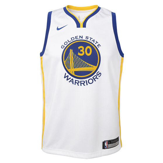 promo code fe5c0 88d02 Nike Golden State Warriors Steph Curry Association 2019 Kids Swingman Jersey