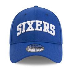 Philadelphia 76ers 39THIRTY Type Hype Cap Blue S / M, Blue, rebel_hi-res