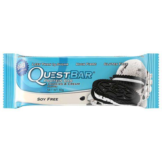 Quest Protein Bar 60G Cookies N Cream Cookies n Cream, , rebel_hi-res