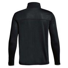 Under Armour Boys Siro Quarter Zip Top Black / Grey XS, Black / Grey, rebel_hi-res